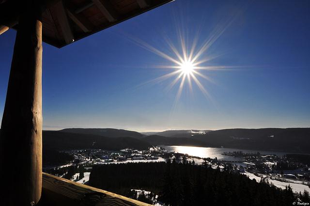 auf dem Riesenbühlturm bei Schluchsee (© Buelipix)