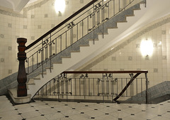 Treppenaufgang im Körner-Haus (4xPiP)
