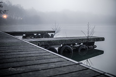 Im dichtem Nebel am Haselünner See