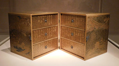 Book Cabinet for the Tale of Genji in the Metropolitan Museum of Art, March 2019