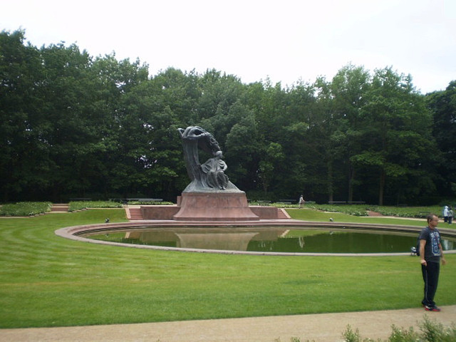 Chopin Monument.