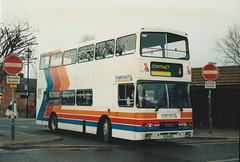 United Counties K711 ASC at Mildenhall - March 1995