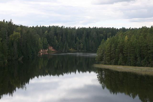 Saesaare paisjärv / Saesaare impounded lake