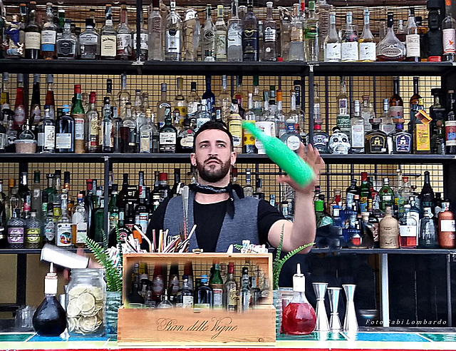 the barkeeper