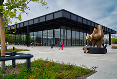 Die Neue Nationalgalerie Berlin ist wieder geöffnet - The New National Gallery Berlin is open again - PiP