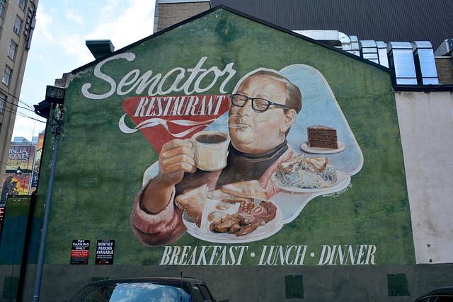 Canada 2016 – Toronto – Senator restaurant