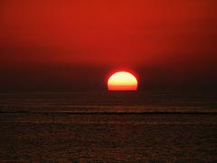 sunset d'automne,