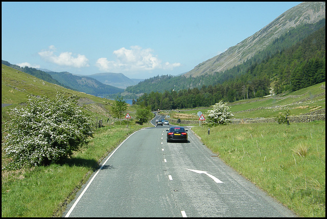 coming down to Thirlmere
