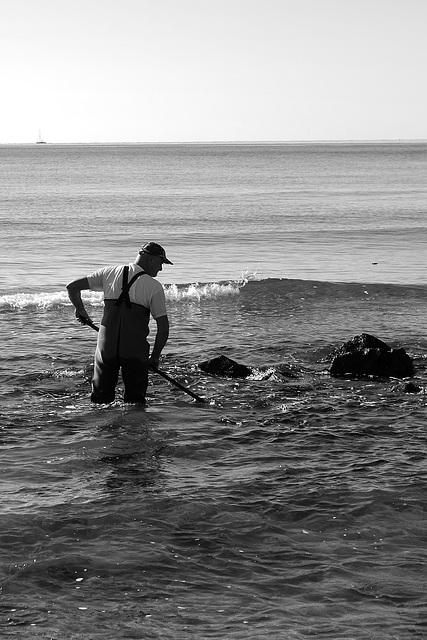 Le travailleur de la mer.