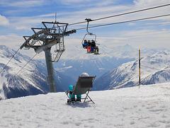 les derniers jours de ski..