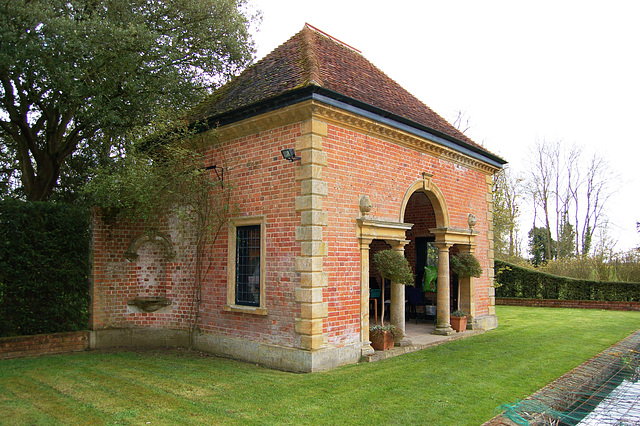 Garden by Philip Tilden, Easton Lodge, Little Easton, Essex