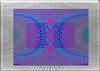 Waves pattern pol coord back2back dove w puce inv sharper multi