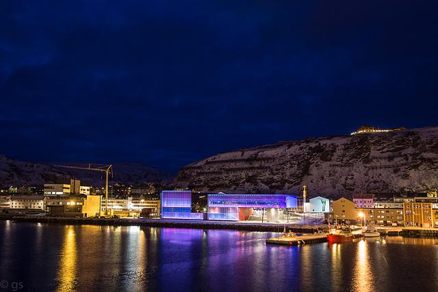 Blue hour Hammerfest