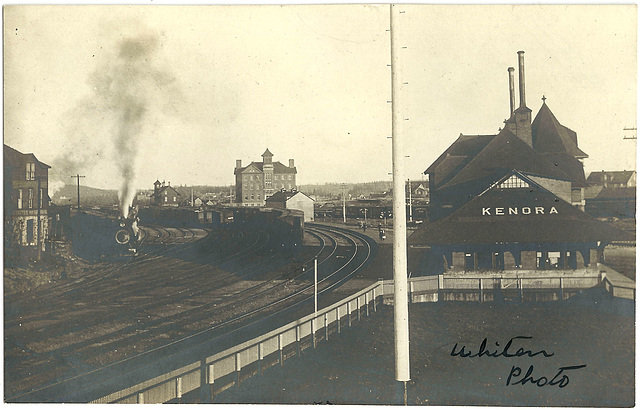 KN0339 KENORA - (TRAIN STATION)