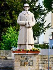 Römerberg 2017 – Monument for the fallen in two world wars