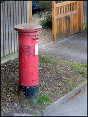 Woodstock Road pillar box