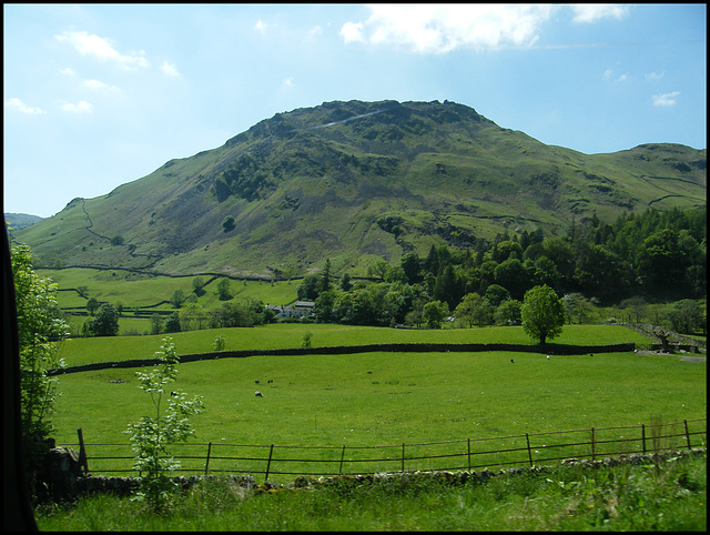 Helm Crag from Grasmere