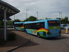 DSCF9264  Ipswich Buses YK08 EPU and YK08 EPV - 22 May 2015