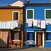 Orange & Blue Houses