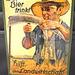 1930 Reklame - Bier und Landwirtschaft