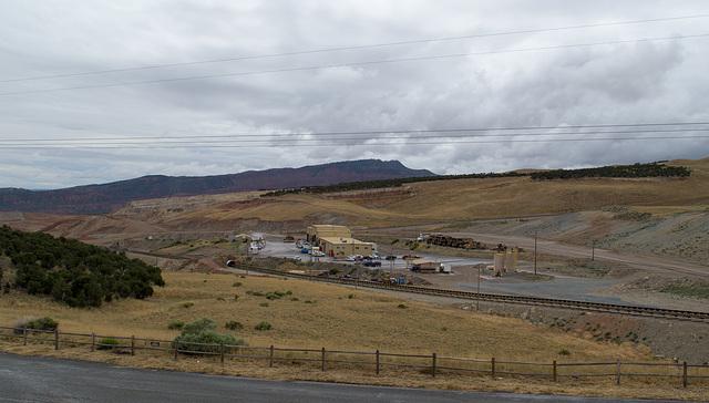 Flaming Gorge Simplot phosphate mine UT (#0056)