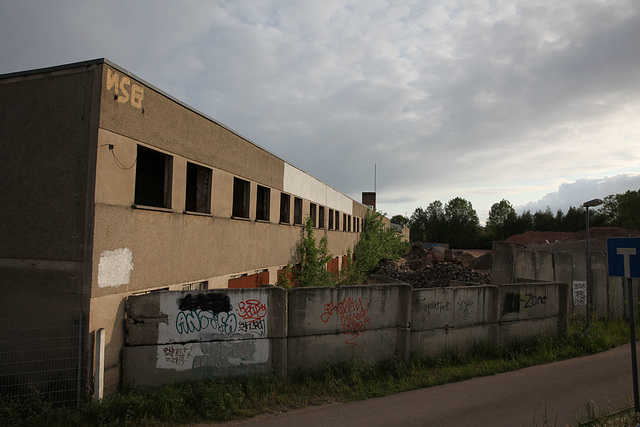Kommunale Berufsschule (KBS) Niegripper Chaussee Lehrlingswohnheim Internat