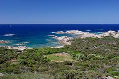 From Senetosa lighthouse, Corsica