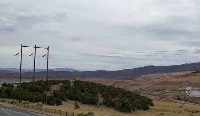 Flaming Gorge Simplot phosphate mine UT (#0058)
