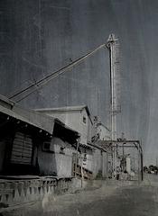 "Grain mill in ""daguerrotype"""