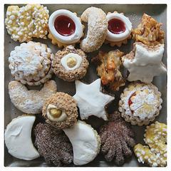 Christmas cookies/ Schwäbische Gutsle (PiP)