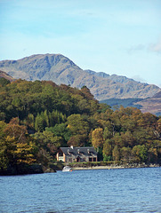 The house on the Loch  ~ Firkin point ~ Loch Lomond
