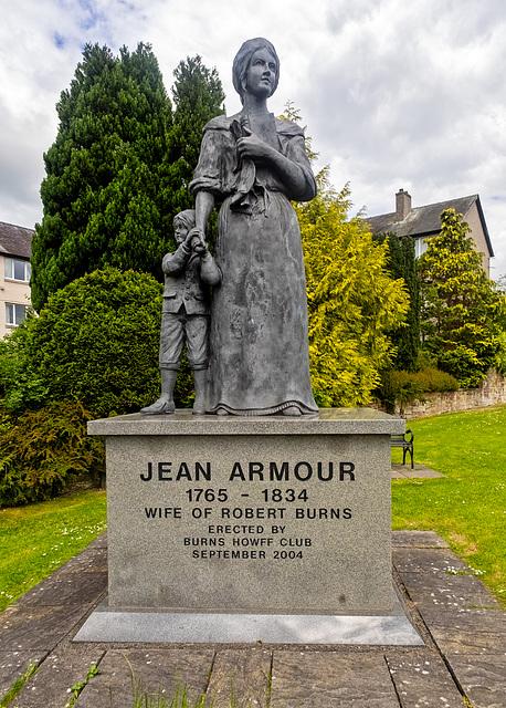 Jean Armour Statue