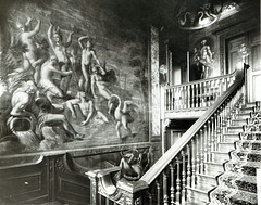 Wall Paintings by Antonio Verrio, Uffington House, Lincolnshire (now demolished)