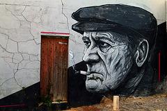 Un graffiti qui fait un tabac