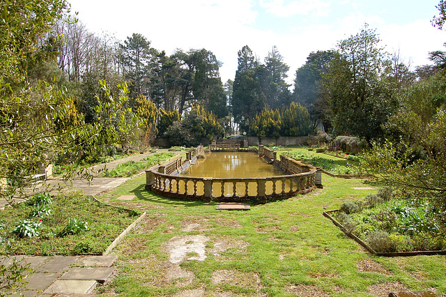 Italian Gardens in Process of Restoration, Easton Lodge, Little Easton, Essex