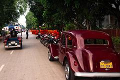Old Citroen in Laos