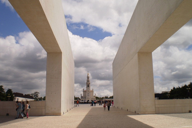 Basilica of Our Lady of Rosary (1953), in Fátima.