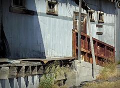 Galvanized and rust