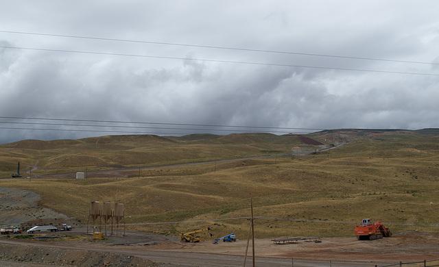 Flaming Gorge Simplot phosphate mine UT (#0061)