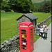 K6 defibrillator box at Grasmere