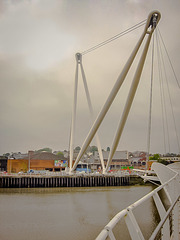 Millenium Footbridge from East Bank