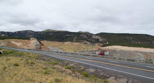 Flaming Gorge Simplot phosphate mine UT (#0064)