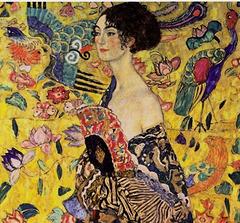 La Dame à l'Eventail, Gustave Klimt