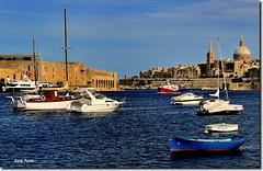 Marsamxett Harbour - Valetta