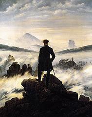 Caspar David Friedrich - La migranto super la nebulomaro