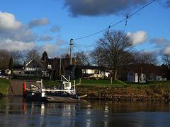 a yaw rope ferry /Die Gierseilfähre von Grossenwieden