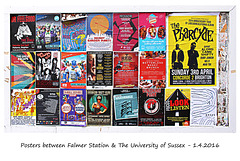More posters outside Falmer Station - 1.4.2016