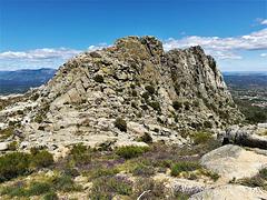 granite and lavender