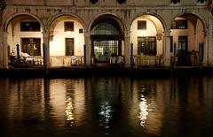 Lichtspiele am Fondaco Tedeschi