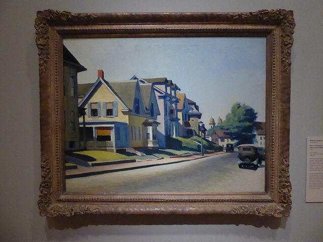Edward Hopper painting, Cincinnati Art Museum